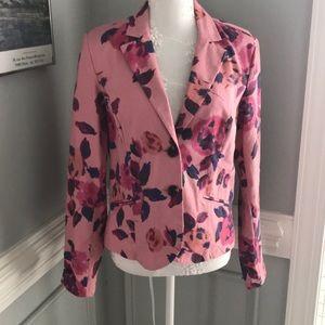 CAbi Gorgeous Floral Jacket NWOT